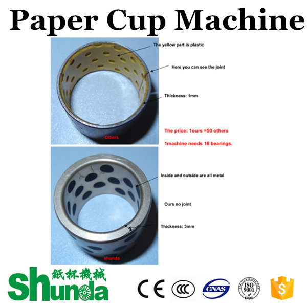 High Power Durable Paper Tea Cup Making Machine Highly Efficiency