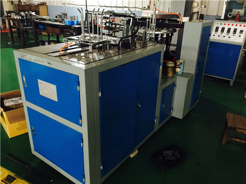 Single PE Coated Paper Cup Making Machine 4.8KW High Efficiency