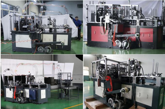 Thermoforming Ultrasonic Sealing Paper Cup Forming Machine High Speed ultrasonic&hot air system high automation