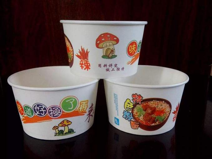 Factory supply paper bowl for food soup noodles making machine