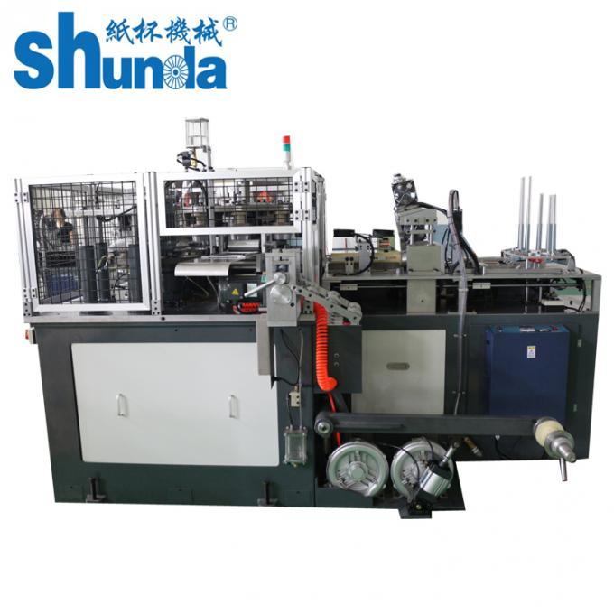 60hz 16kw High Speed Paper Bowl Making Machine With Ultrasonic / Hot Air Sealing