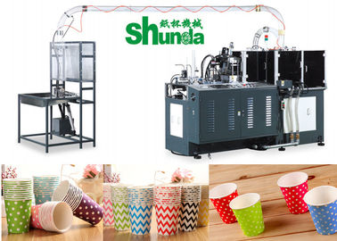 चीन Full Automatic Disposable Paper Cup Making Machine 380V 60HZ 12KW आपूर्तिकर्ता