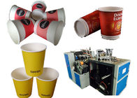 चीन Hot Drink High Speed Paper Cup Forming Machine Hot Air System फैक्टरी