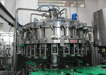 चीन Glass Automatic Bottle Filler Liquid Filling Machinery High Precision वितरक
