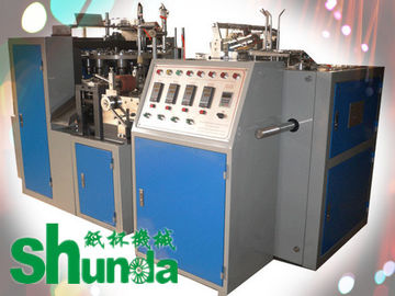 चीन Safety Single PE Coated Automatic Paper Cup Machine 50HZ 4.8KW फैक्टरी