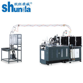 चीन Auto High Speed Paper Cup Making Machine Thermoforming Ultrasonic Sealing वितरक